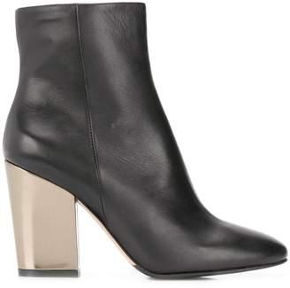 The Seller metallic heel boots