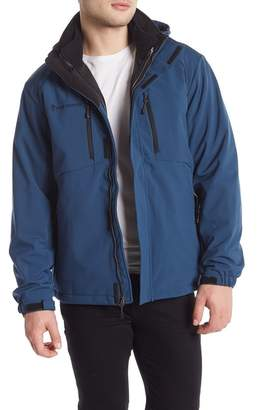 Free Country Soft Shell Reversible Jacket