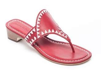 Bernardo FOOTWEAR Gabi Embroidered Sandal