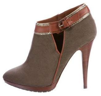 Rene Caovilla Embellished Pointed-Toe Booties w/ Tags
