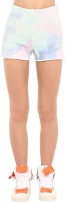 GUESS X J Balvin Vibras Collection Tie Dye Cotton Shorts