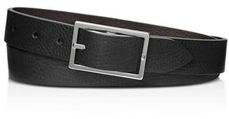 Shinola Reversible Rectangle Buckle Belt