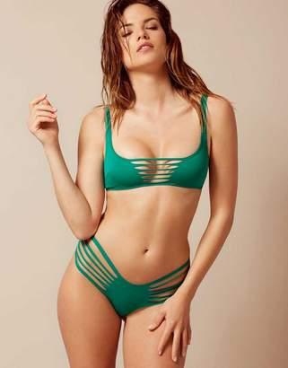 Agent Provocateur Dakotta Bikini Top Green