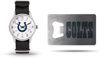 Unbranded Sparo Indianapolis Colts Watch & Bottle Opener Gift Set