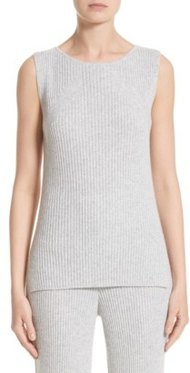 Women's St. John Collection Knit Cashmere Shell $495 thestylecure.com