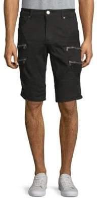 X-RAY Jeans Zip Pocket Denim Shorts