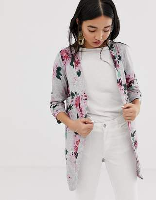 B.young floral cardigan