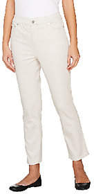 Liz Claiborne New York Jackie 5 Pocket Slim LegAnkle Pants