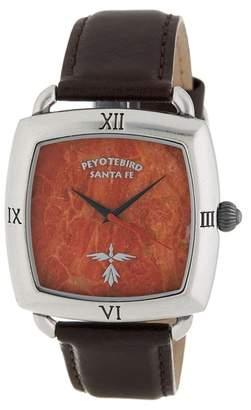 Peyote Bird Roman Coral Wrist Watch, 30mm