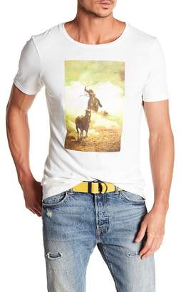 Frame Bronco Graphic Print Tee