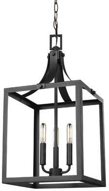 Gracie Oaks Sherri-Ann 3-Light Lantern Pendant