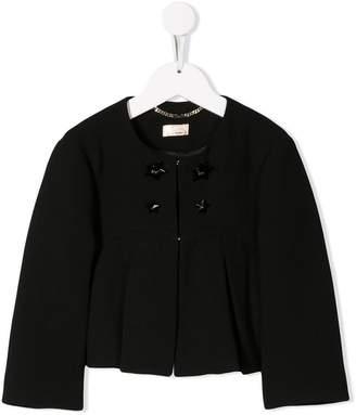 Elisabetta Franchi La Mia Bambina pleated jacket