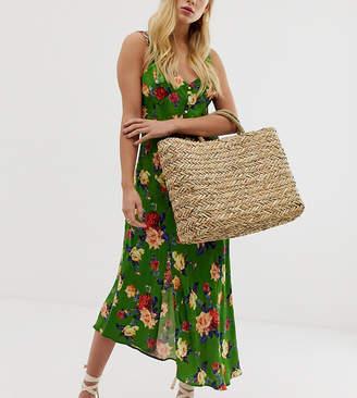 South Beach Exclusive straw beach bag