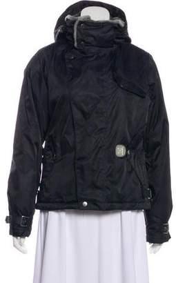 Burton Striped Hooded Jacket