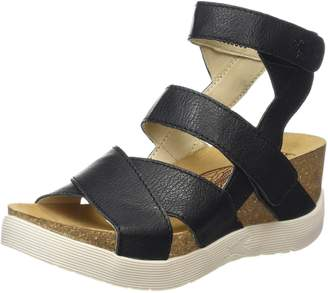 Fly London Women's WEGE669FLY Platform Sandal