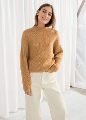 And other stories Rib Knit Turtleneck