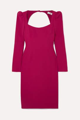 Rebecca Vallance Briar Open-back Crepe Dress - Red