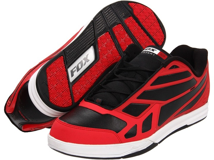 Fox Newstart (Red/Black) - Footwear
