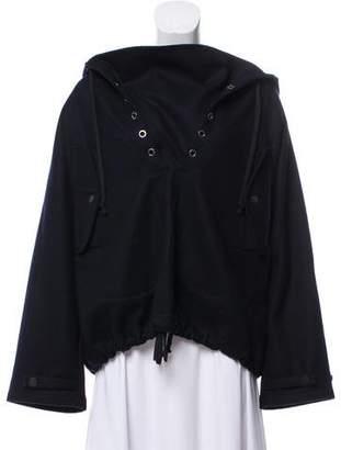 Celine Hooded Wool Jacket