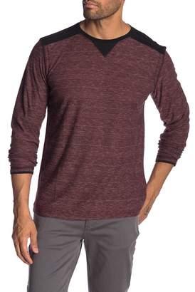 Burnside Long Sleeve Striped Knit Top