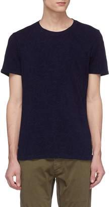 Denham Jeans Stripe panel back T-shirt