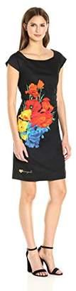 Desigual Women's Woven Short Sleeve Dress