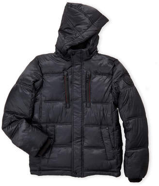 Hawke & Co Boys 8-20) Tonal Camouflage Hooded Coat