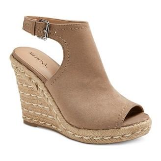 Merona Women's Mala Shield Espadrille Wedge Sandals $32.99 thestylecure.com