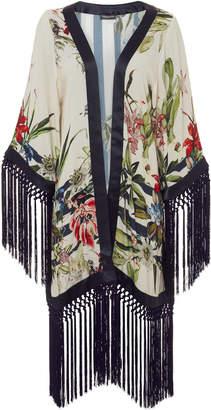Tatjana Anika Floral Fringe Kimono
