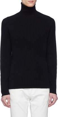 Theory 'Roderick' cashmere rib knit turtleneck sweater