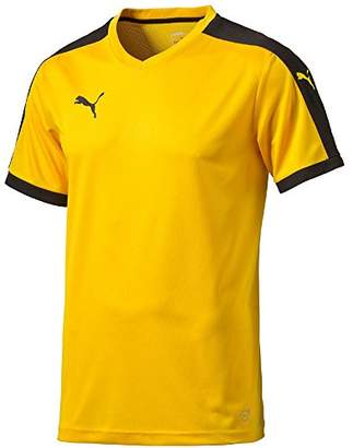 Puma Children's Short-Sleeve Shirt Dip - Yellow