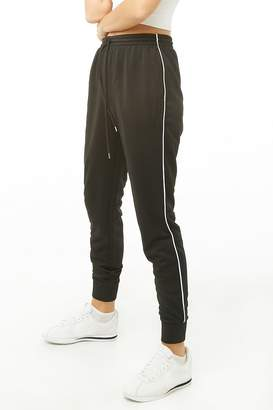 Forever 21 Active Piped-Trim Sweatpants
