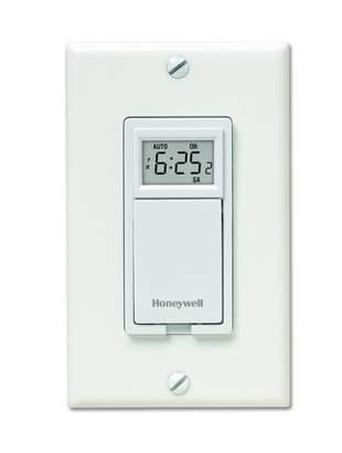 Honeywell Programmable Light Switch & Motor Timer