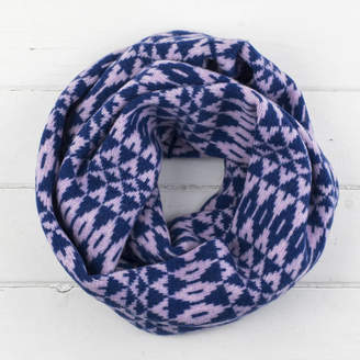 Miss Knit Nat Mirror Knitted Circle Scarf