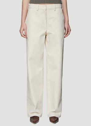Our Legacy Workwear Denim Pants in Beige