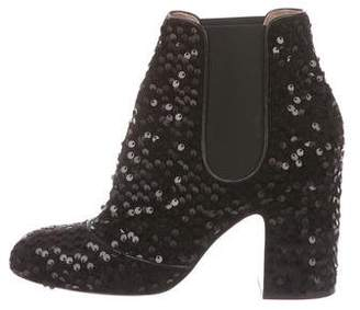 Laurence Dacade Sequin Ankle Boots