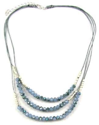 Ananda Blue Crystal Necklace