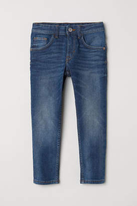 H&M Relaxed Tapered Fit Jeans - Blue
