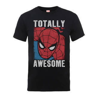 Marvel Comics Spiderman Totally Awesome Men's Black T-Shirt