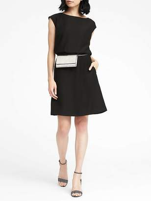 Banana Republic Drape Back Dress