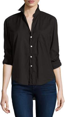 Frank And Eileen Eileen Button-Front Shirt, Black