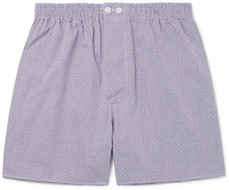 Zimmerli Embroidered Cotton Boxer Shorts
