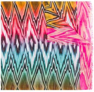 Missoni zigzag diamond printed scarf