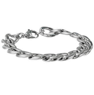 JCPenney FINE JEWELRY Mens Stainless Steel 9 13mm Chunky Curb Bracelet