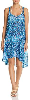 Gottex Profile by Tribal Batik Dress Swim Cover-Up
