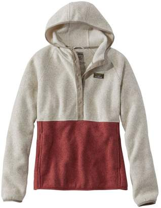 L.L. Bean Misses' L.L.Bean Sweater Fleece Pullover Hoodie