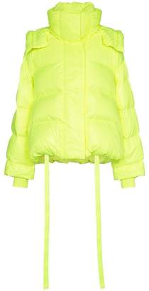 Juun.J Short padded feather down puffer jacket