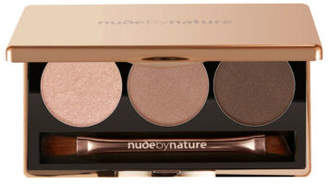 NEW Nude By Nature Eyeshadow Trio - Nude