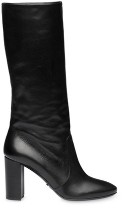 Prada high heeled boots