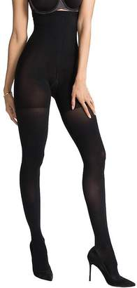 Spanx Women's Luxe Leg Blackout Tights, Very Black, D